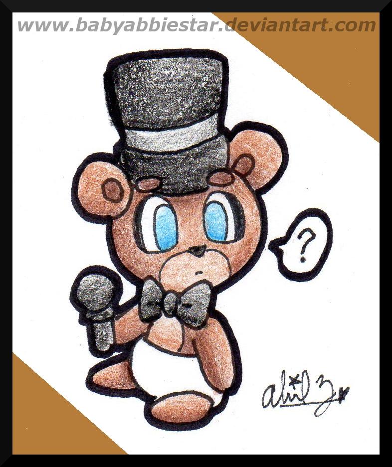 Baby Freddy Toys : Gift baby freddy by babyabbiestar on deviantart