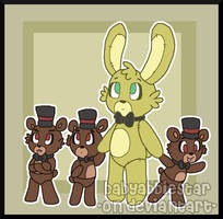 FNAF: Plushtrap and the Cubs