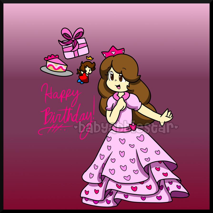 Gift: Happy Birthday, Lora! By BabyAbbieStar On DeviantArt