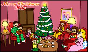 Merry Christmas 2017 by BabyAbbieStar