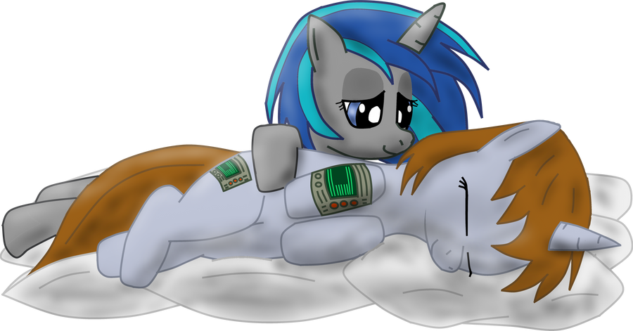 Littlepip And Homage On Pillows By Jetwave On Deviantart