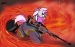 Hired Gun getting into Heat