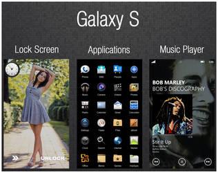 Galaxy S screenshot by mACrO-lOvE