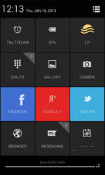 New Android Homescreen by mACrO-lOvE