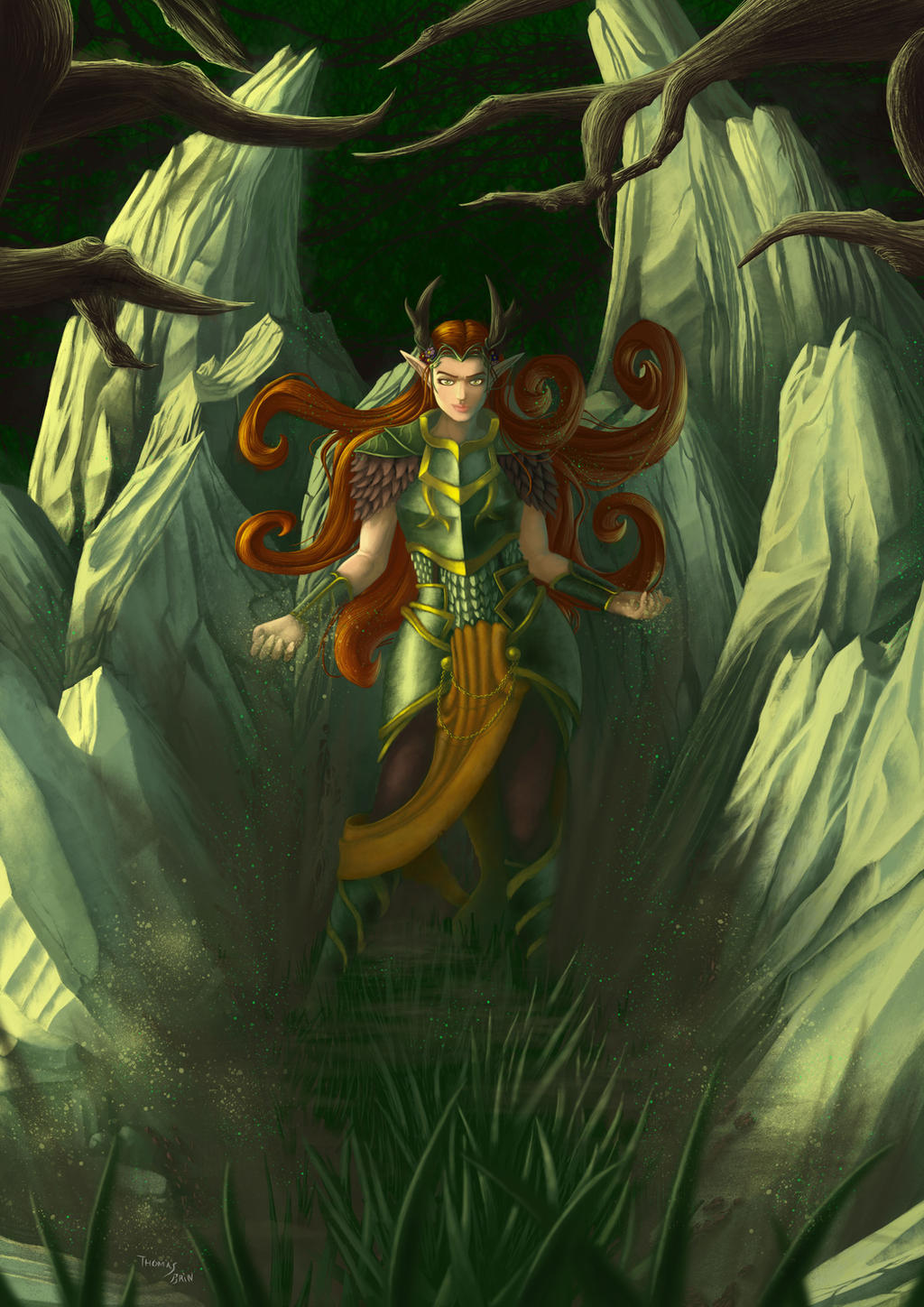 16 Criticalrolefanart Hashtag On Twitter: Fan Art : Keyleth Doing Magic By Mataujall On DeviantArt