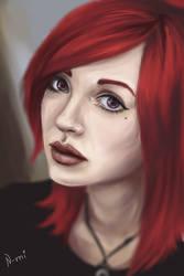 A portrait by Nozomi-Art