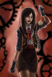 The destructiveness of time by Nozomi-Art
