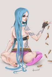 Jinx (League of Legends) by Nozomi-Art