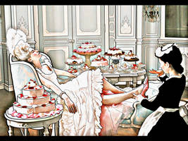 Marie Antoinette by JaViSHu