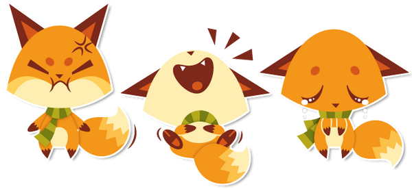 More foxies by Sprits