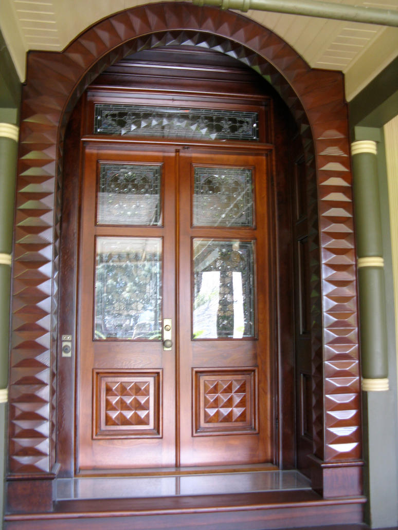 house front doors. Winchester House Front Door by mimic66  on DeviantArt