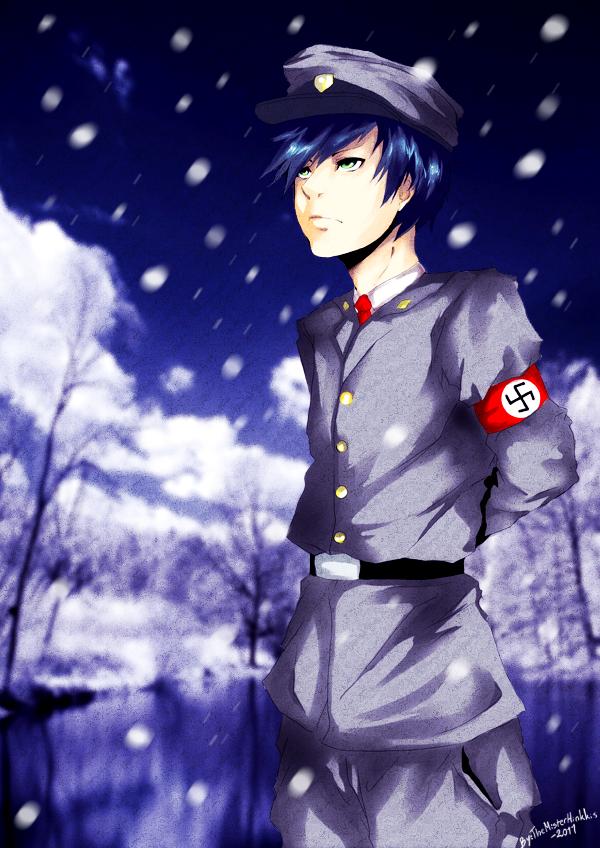 Snowy nazi by TheMisterHinkkis