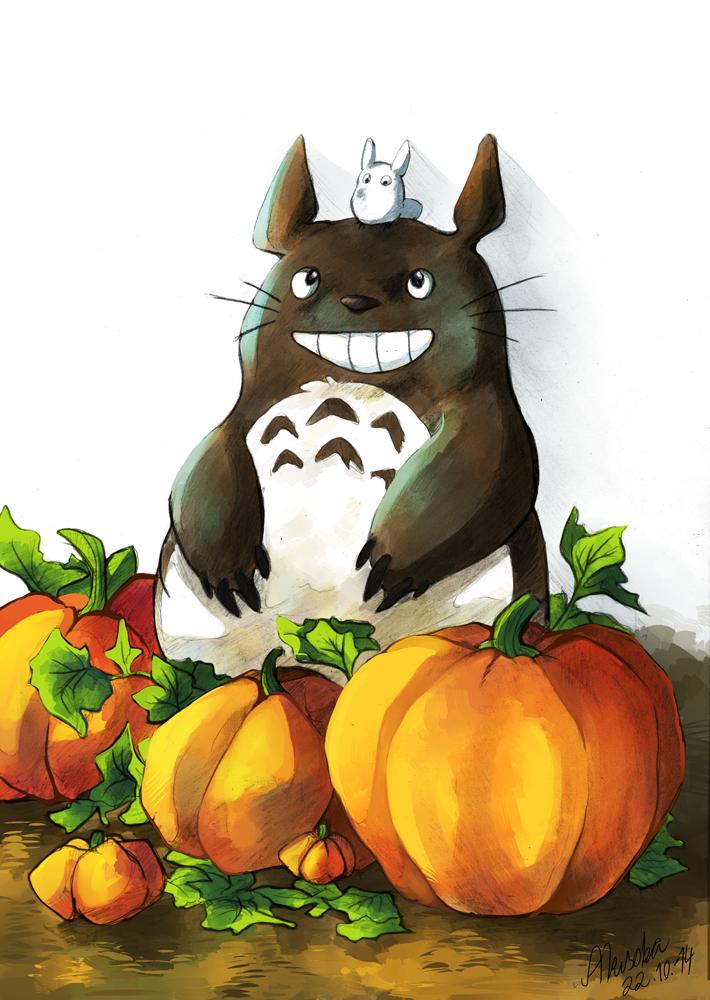 Totoro by TheMisterHinkkis