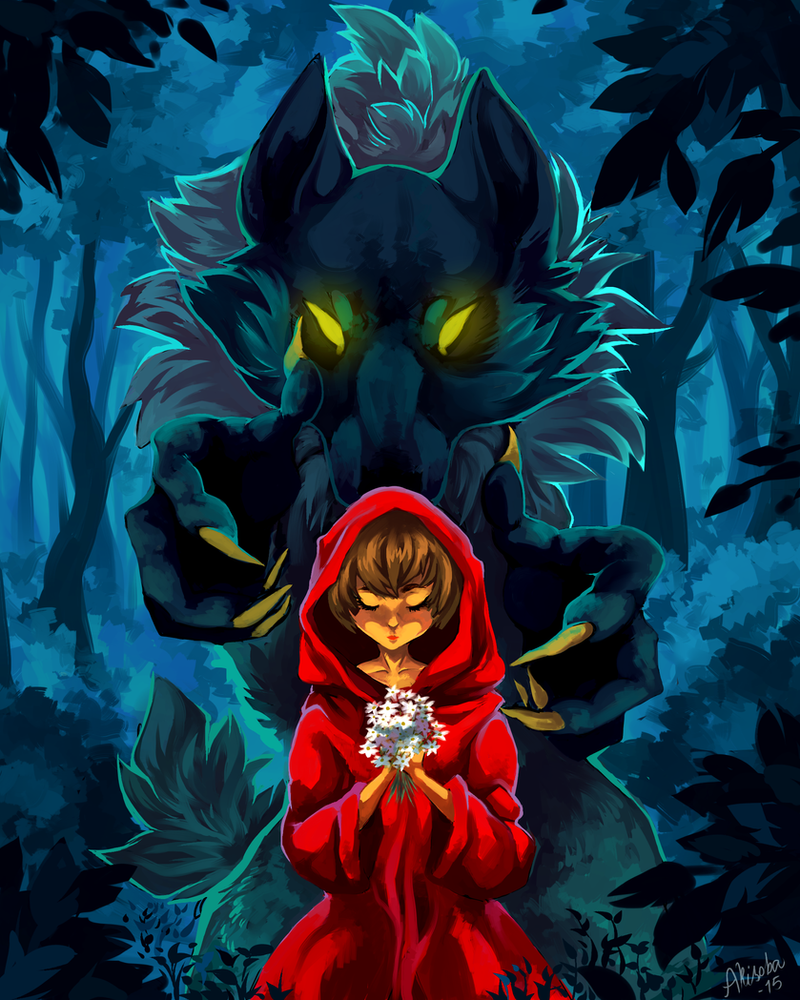 Watch out for the big bad wolf by TheMisterHinkkis