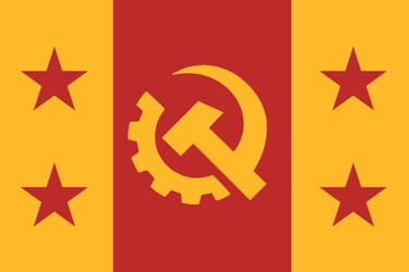 My Personal Commie Flag by sunnycantdraw