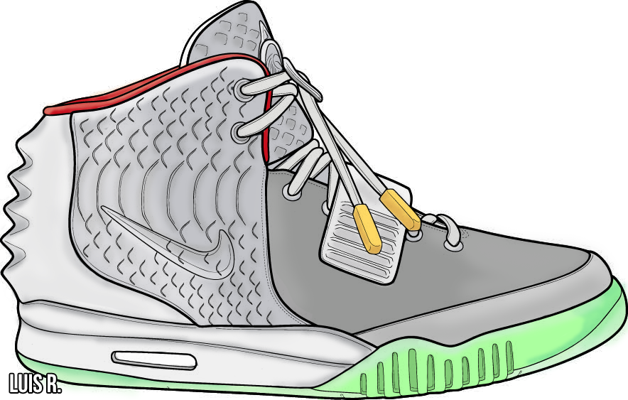 adidas 750 Yeezy Boost Posters Available Now   Sneakhype  Yeezy Drawing
