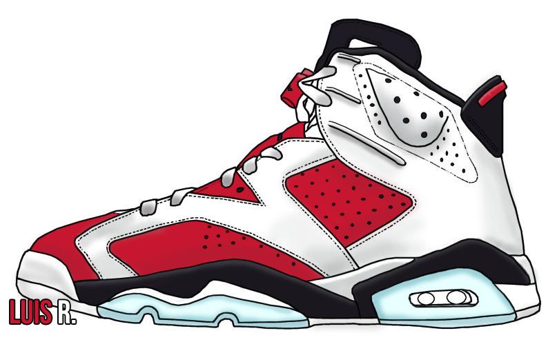 promo code 51f71 0d50d Air Jordan 6 - Carmine by pCgvrtx ...