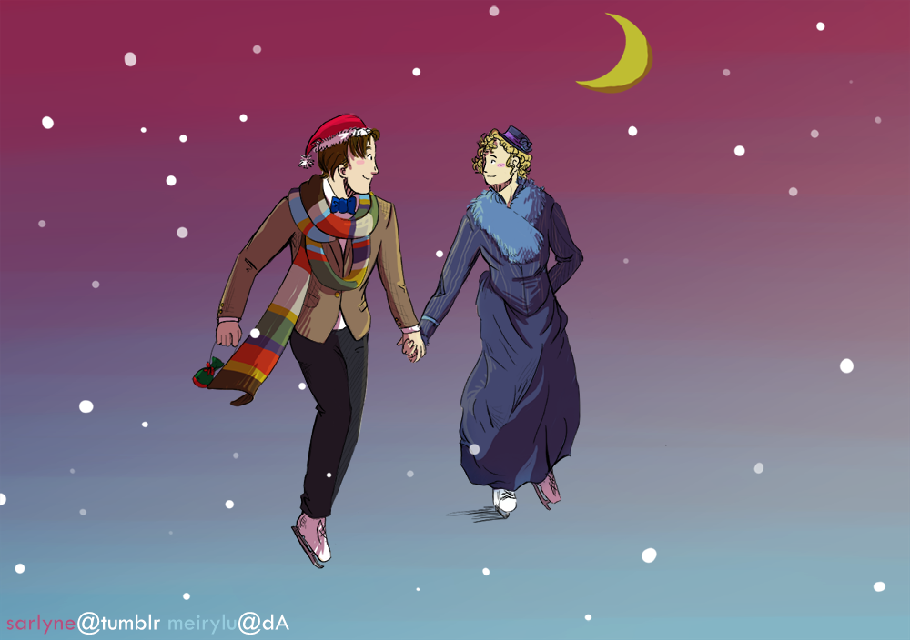 Doctor Who Christmas Cards.Fandom Christmas Cards Doctor Who By Sarlyneart On Deviantart