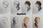 WIP - Les Mis portraits
