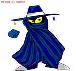 Mr. Dark from Rayman