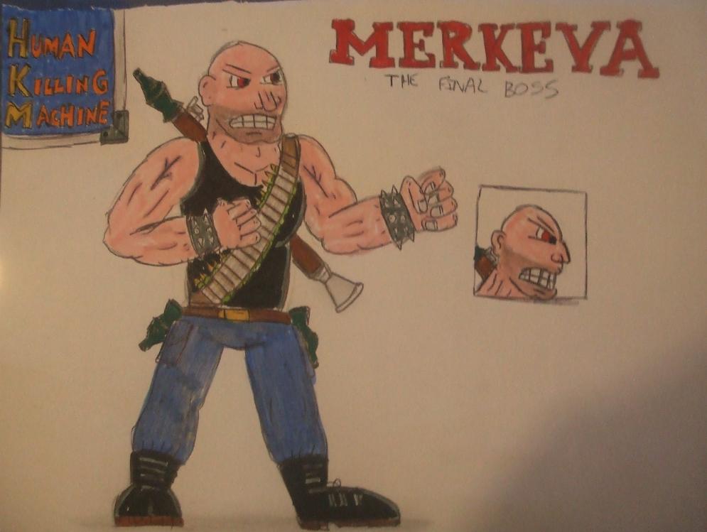 bad game chars - Merkeva: human killing machine