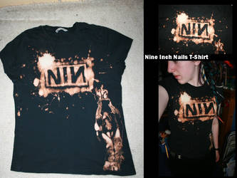 Nine Inch Nails T-Shirt by TheEpilogueOfLife