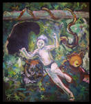 The Jungle Book by mushroomline