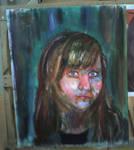 self portrait -progress 2