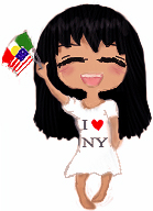Mexican-American Chibi by NocturnalButterfly