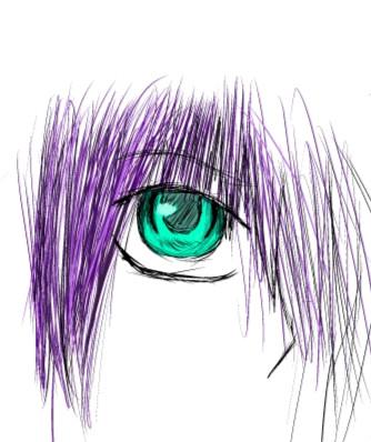 Random Eye :P by losergirl0912