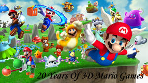 3D Mario, 20 Years...