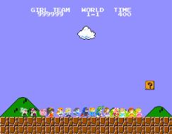 Peach's Team Begins Their Quest by KingBilly97
