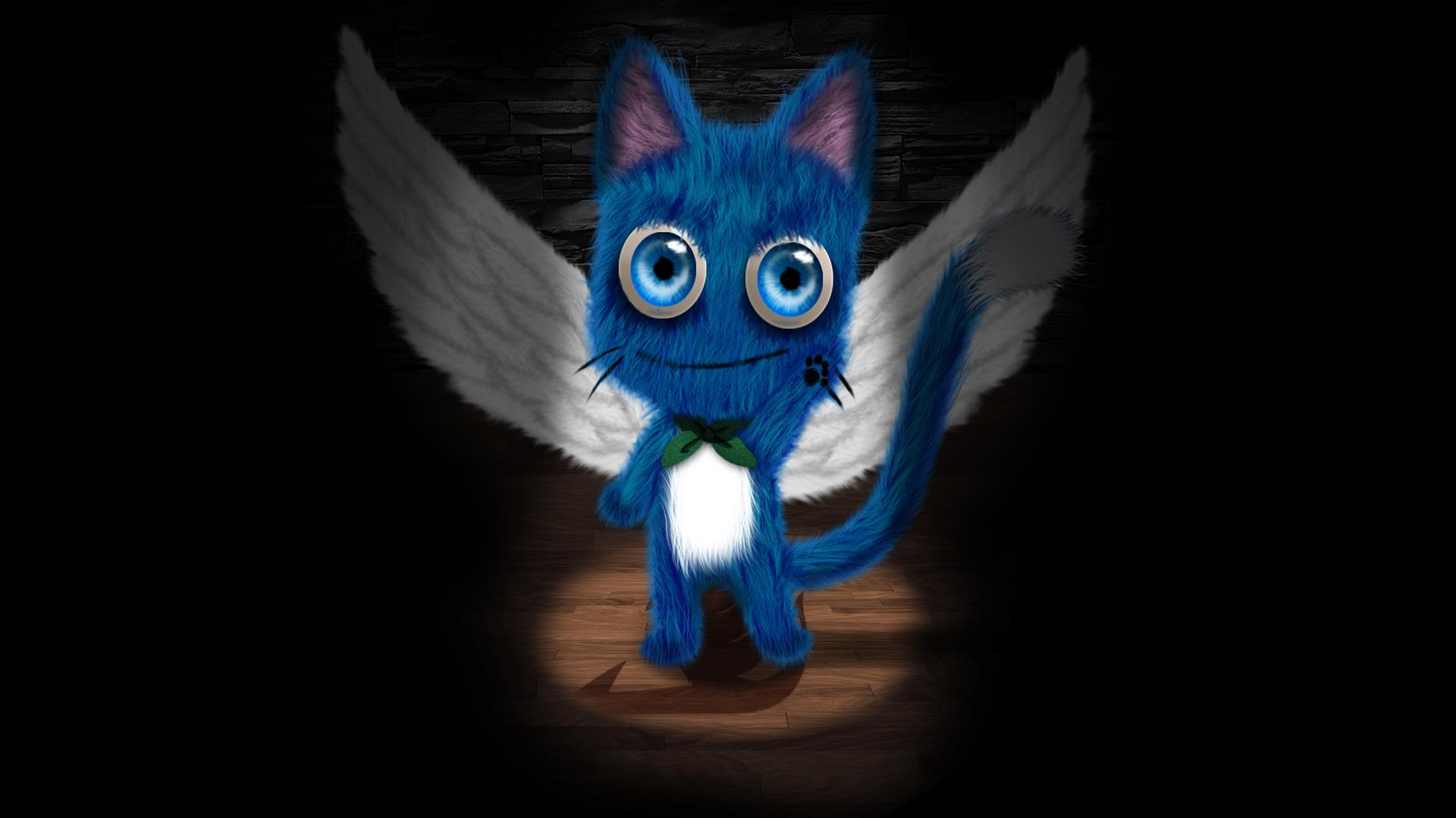 Happy - Fairy Tail by Bixes on DeviantArt