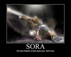Sora Motivational by UltimaWeapon13