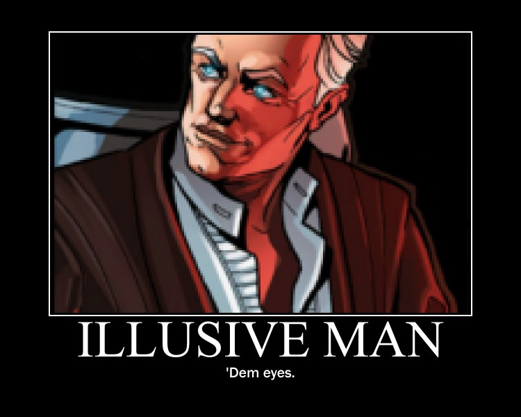 illusive man with epic - photo #12