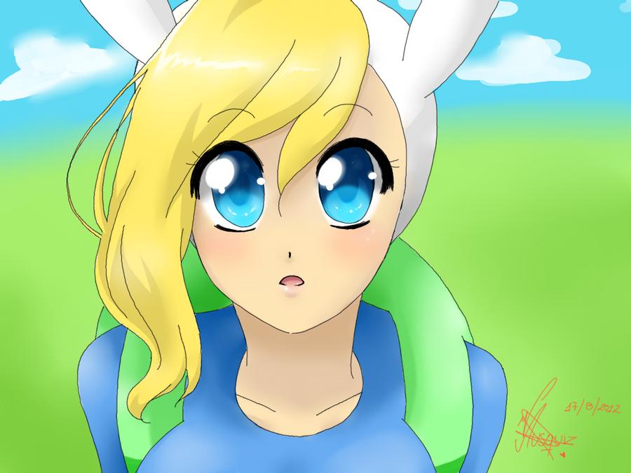 Speed Paint Fionna Adventure Time By Vika01 On DeviantArt