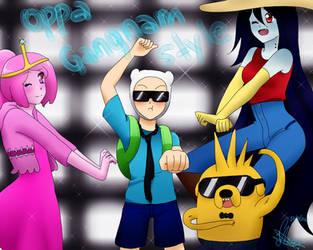 Oppa Gangnam Style Time!!! by Vika01