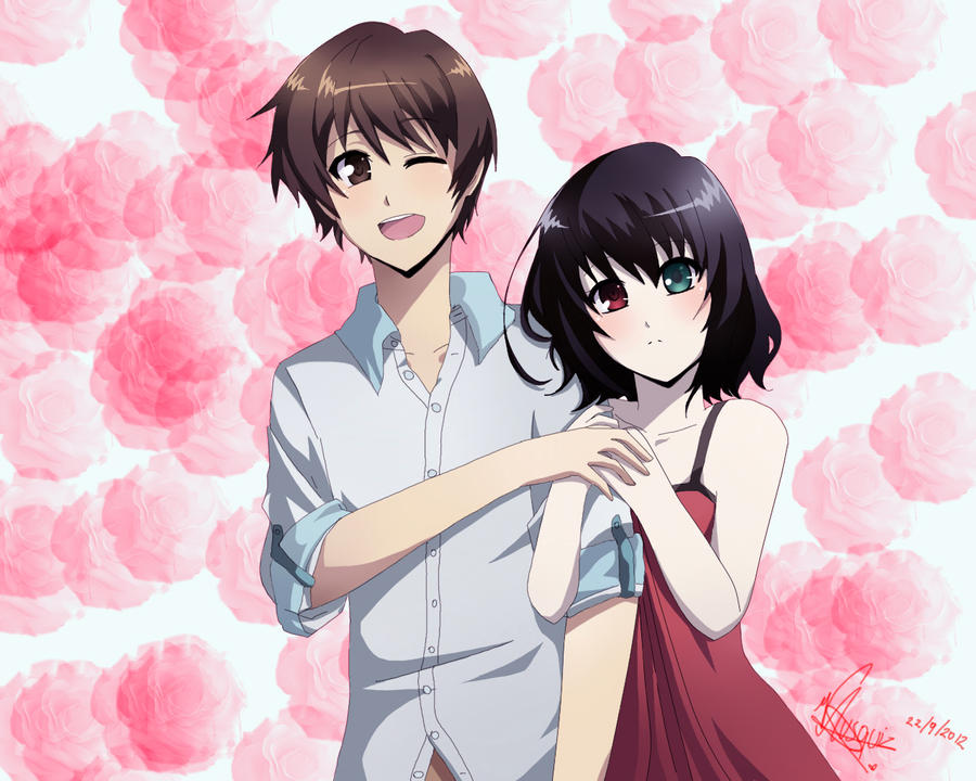 Spring Love by Vika01 on DeviantArt Another Kouichi And Misaki