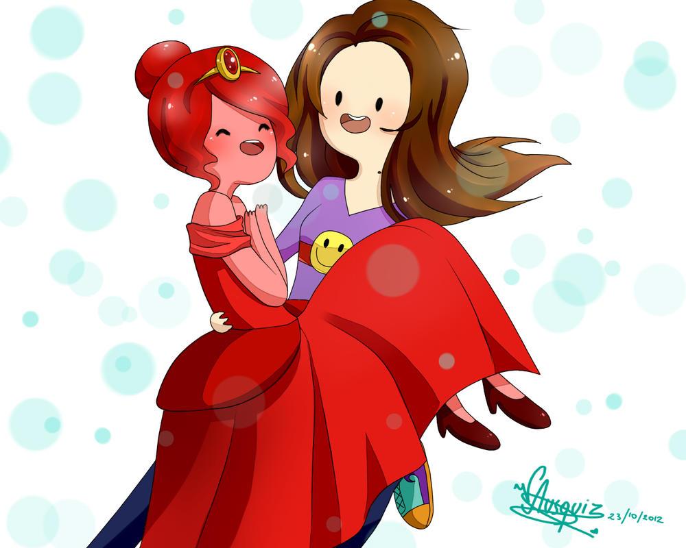 Vika the human / vampire and scarlet Princess by Vika01