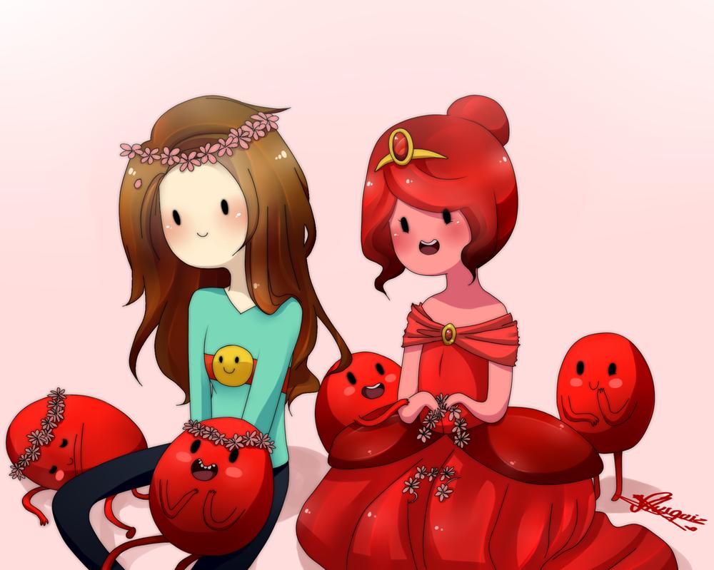 Vika and Scarlet princess by Vika01
