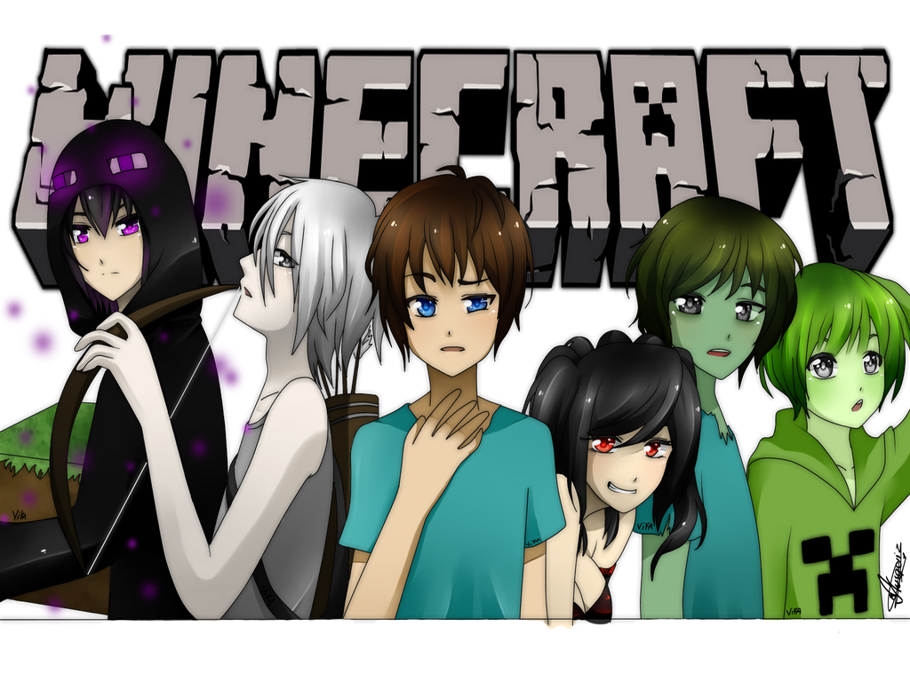 Wonderful Wallpaper Minecraft Anime - minecraft_anime_ver__by_vika01-d5nrjdq  Perfect Image Reference_806856.png
