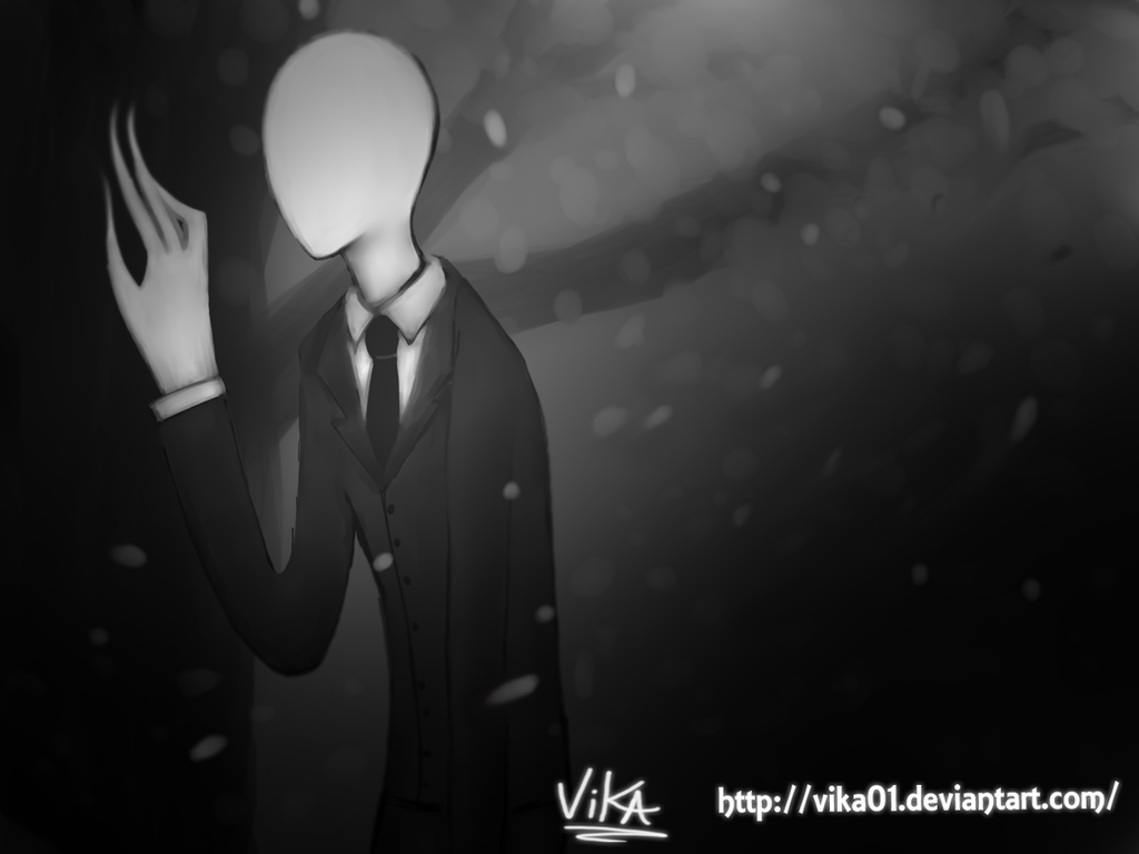 Slenderman by Vika01