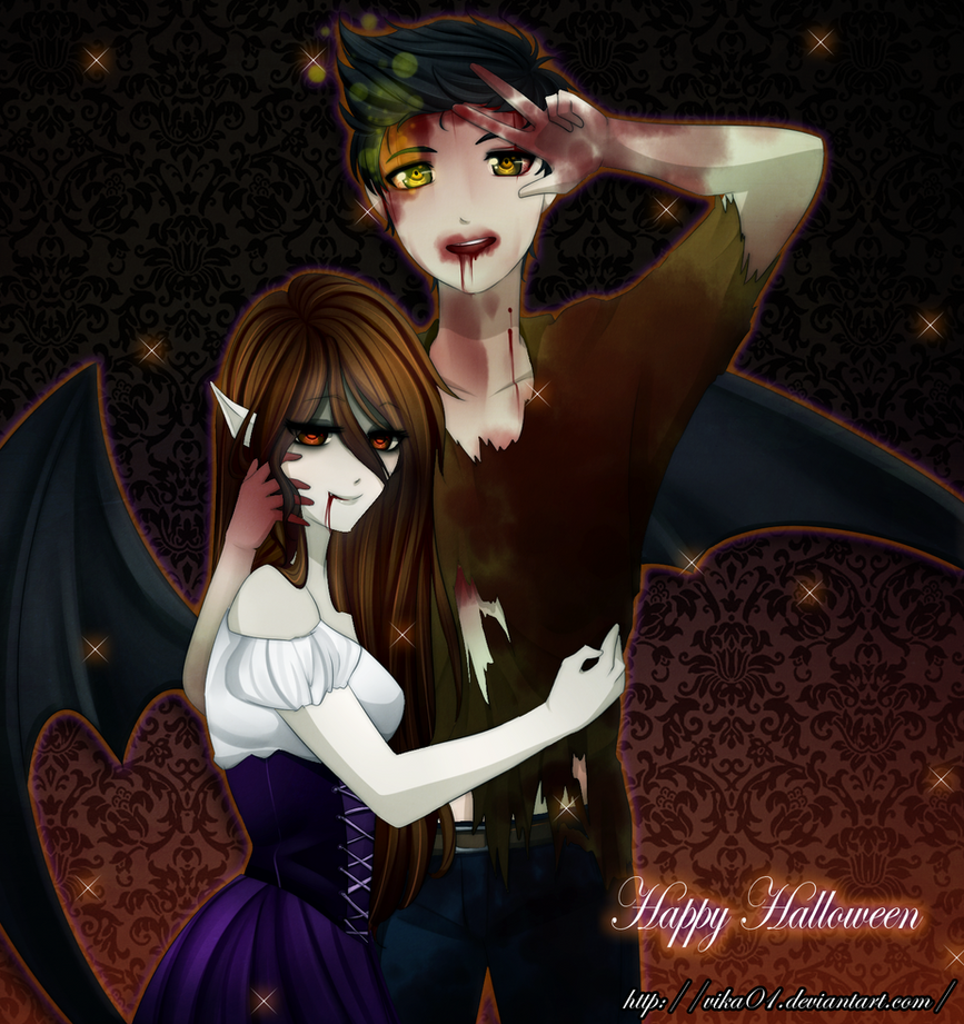 Happy Halloween by Vika01