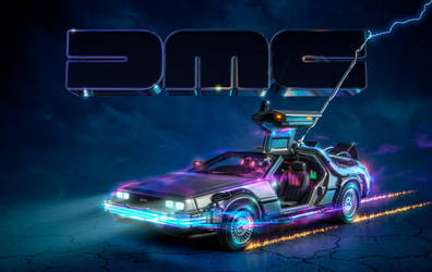 Back to the Future DeLorean DMC by b13visuals