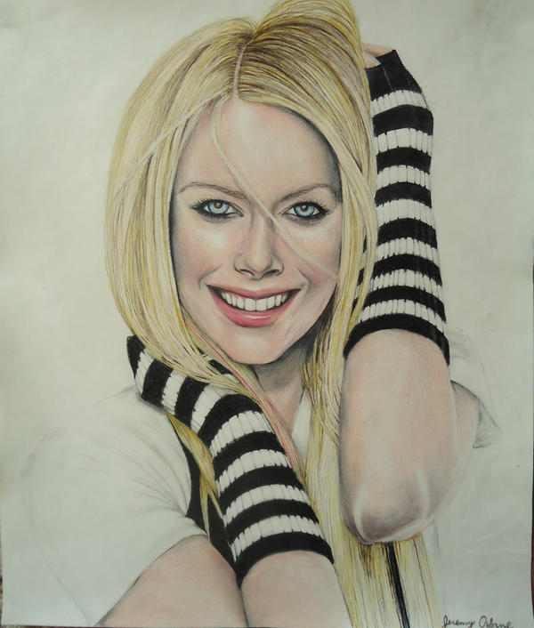 Avril lavigne drawing by jeremyosborne