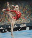 Nastia Liukin - Colored Pencil by JeremyOsborne
