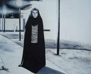 A Girl Walks Home Alone at Night WIP by JeremyOsborne
