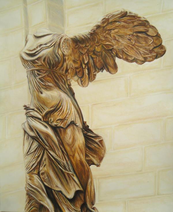 Winged Victory of Samothrace by JeremyOsborne