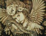 Angel in Colored Pencil by JeremyOsborne