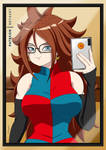 Android 21 selfie